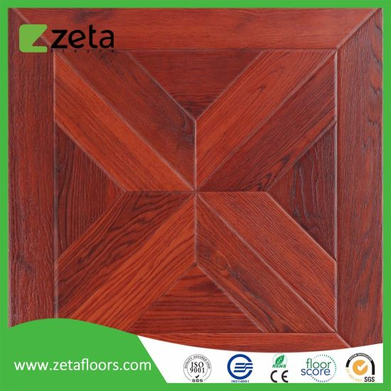 China New Pattern Wood Texture Surface Hdf Laminated Flooring Tile