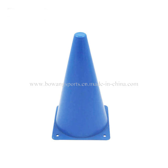 Gym Equipment Sports Disc Cones Set Speed Training Agility Sports Soccer Cones, Plastic Activity Traffic Cones 23cm pictures & photos