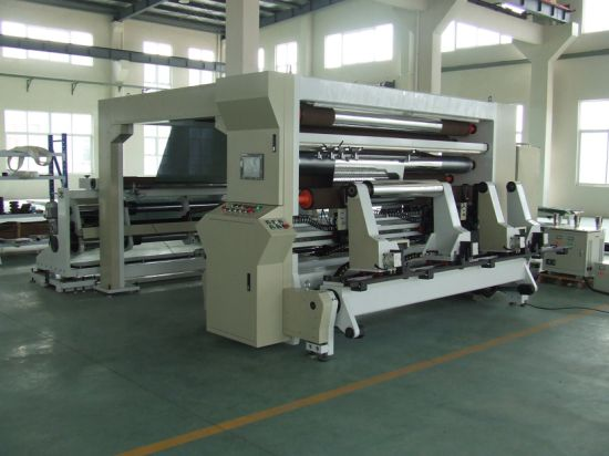 Machine Xs-Hdfg2500-3300c-6 Double Column Type Slitting Machine for Film Materials pictures & photos