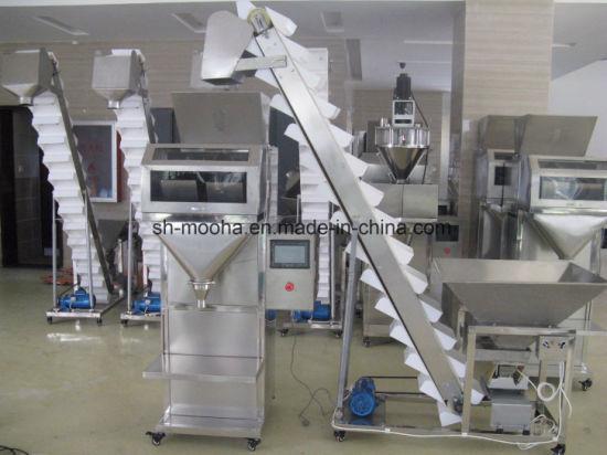 Granule Tea Weigh Filler/Bag Tea Weighing Filling Packaging Machine