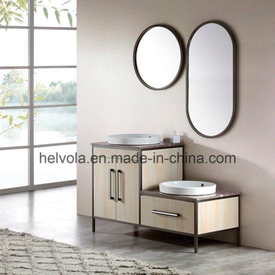 7 Sanitary Ware Bathroom Basin Accessories Cabinet Bathroom Furniture Solid  Wood PVC MDF With Mirror Stainless Steel Bathroom Vanity