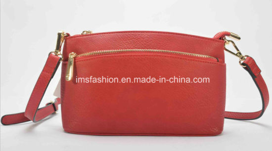 c863760ab8f3 China 2018 New Fancy Lady Fashion Pu Leather Fabric. Plain Rexine Fancy  Handbags