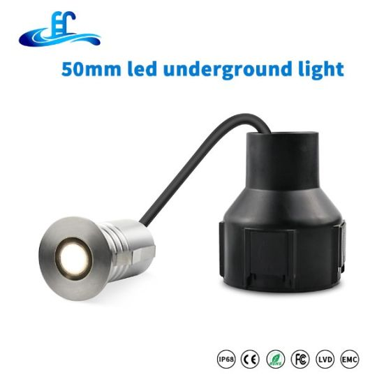 1W 3W IP65 Waterproof Step Outdoor LED Underground Light Deck Lights with Edison LED Chip