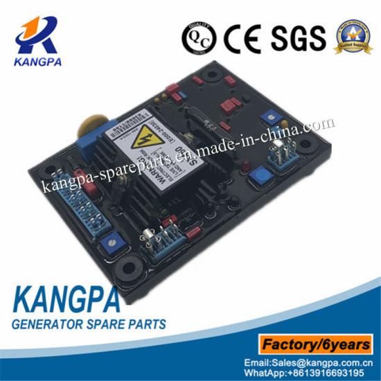 AVR Circuit Diagram AC Brushless Generator Automatic Voltage Regulator on