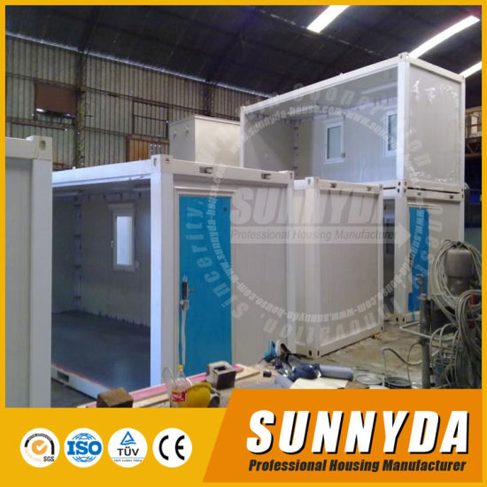 Smart Flexible Prefabricated Portable Expandable Container House for Office/Living Room/Accomodation (SA10-0181)