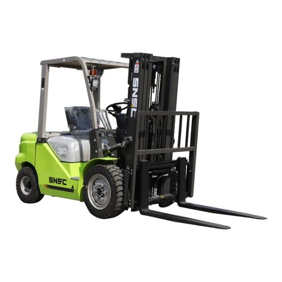 Chariot Elevateur 3t 3ton Diesel Forklift in France