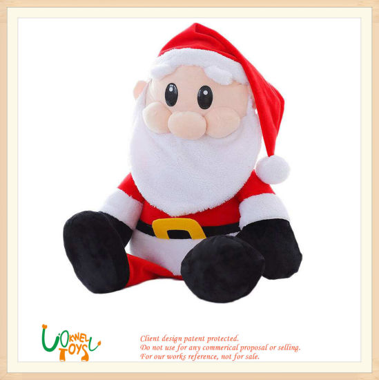Soft Plush Stuffed Santa Claus Toys Christmas Gift