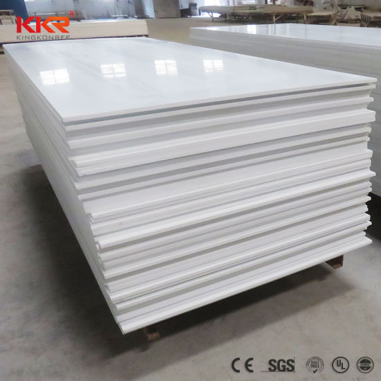 Glacier White Acrylic Solid Surface Sheets For Countertops