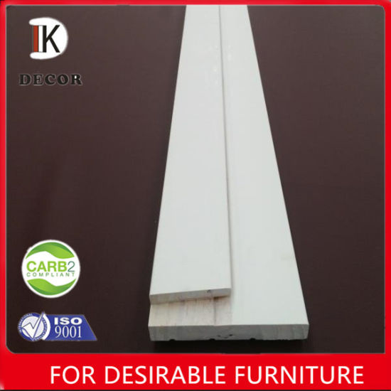 China Primed Coated White Flat Exterior Door Wooden Jamb China