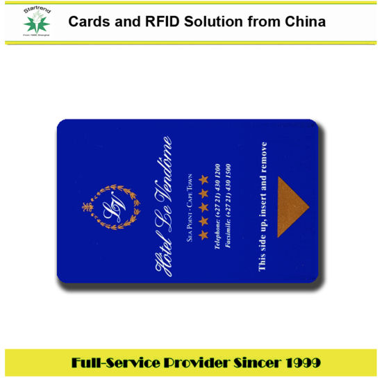 Proximity 125kHz 13.56MHz Plastic RFID Card for Hotel Door Tag