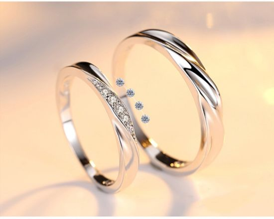 Fashion Jewelry S925 Sterling Silver Open End Ring Jewellery