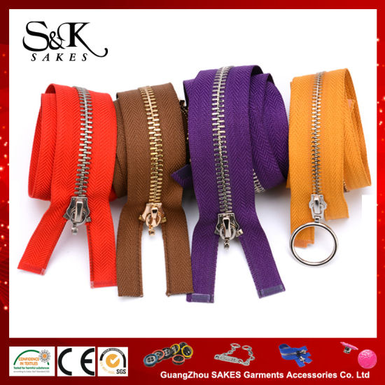 2018 Custom Various of Zippers for Garment Use