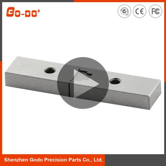 CNC Machining/Machined/Machinery Part, High Precision Square Interlocks Brick Mold Part