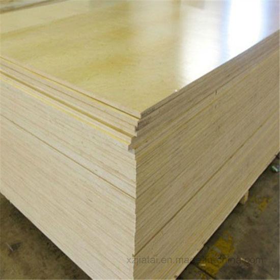 China Laminated Plastic Plywood / Melamine Plywood / PVC