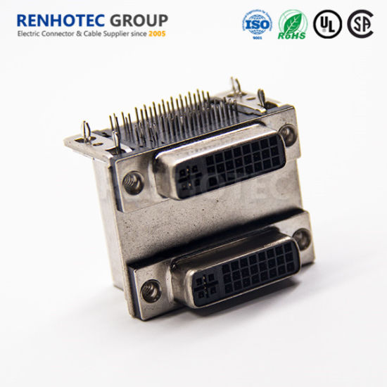 Double Layer 24+5pins DVI Connector Best Buy