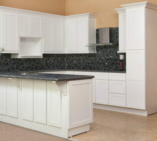 Ready Made White Painting Cabinet Doors Display Furniture Kitchen