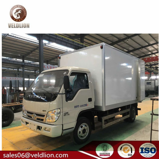 00a07169d0 Foton Forland 4m Reefer Truck Body 2 Ton~ 3 Ton Freezer Refrigerated Truck  Light Duty Refrigerator Box Truck. Get Latest Price