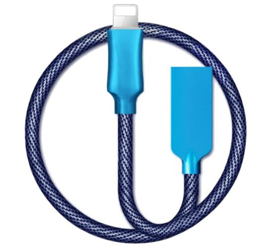 Cloth Braided Cell Phone Cable for iPhone/Samsung/Huawei