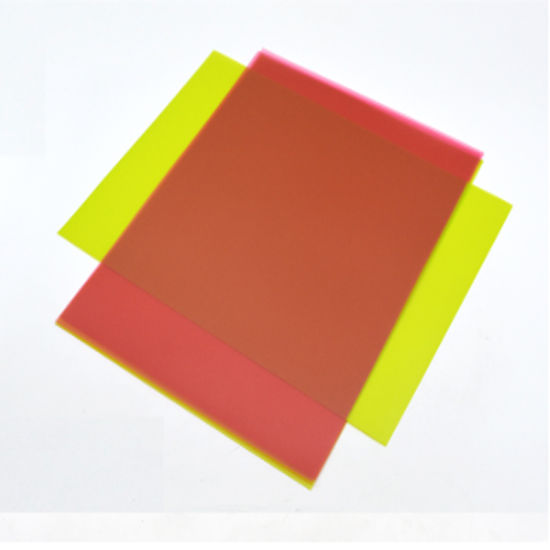 Factory Price Color Transparent Polypropylene Plastic Sheet for Notebook Cover pictures & photos