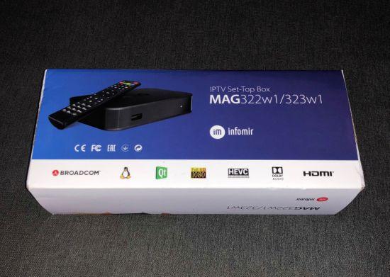 China Hot Selling Mag Box Linux 3 3 Mag 322 TV Set Top Box - China