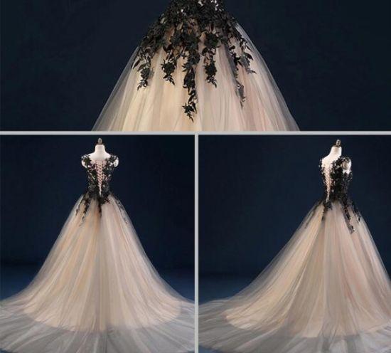 Princess Grace Wedding Dress.Bride Gown Sexy Dream Princess Grace Wedding Dress