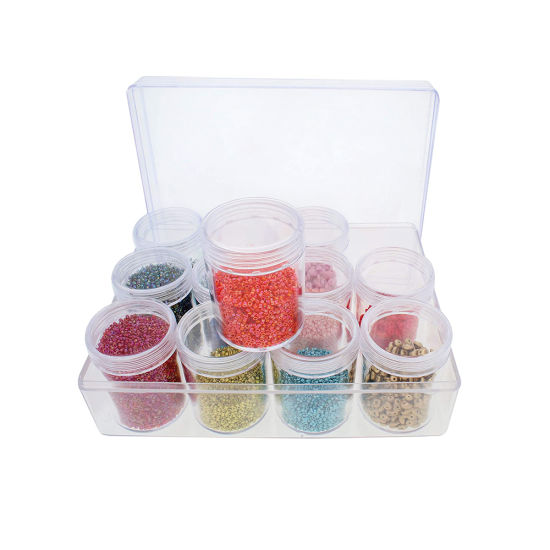 21814 Bead Box 12 Boxes With160*120*51mm Size