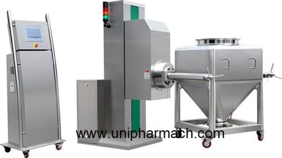 Pharmaceutical Machinery Single-Column Lifting Hopper Type Mixer