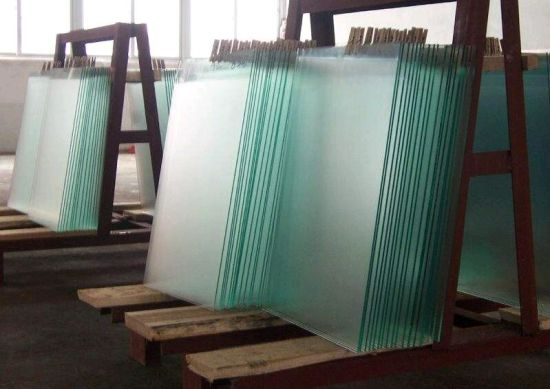Acid Ecthed Glass Line Acid Ecthed Glass 3mm 4mm 5mm 6mm