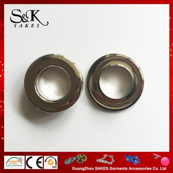 High Quality Rack Shinny Silver Metal Eyelet for Garments
