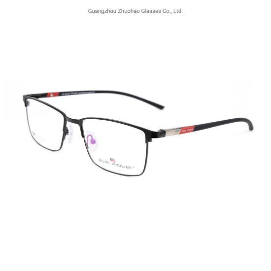 2019 Wholesale New Model Design Eyewear Frame Metal Full Rim Optical Frames for Men