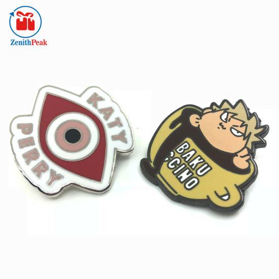 Cute Design Zinc Alloy Metal Hard Enamel Lapel Pin Badge