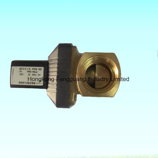 Air Compressor Parts Brass 24V 2 Way Solenoid Valve