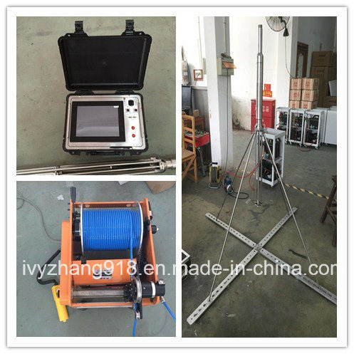 Geotechnical 4arm Concrete Bored Pile Detecting System for 100m Deep Pile Caliper and Sediment Logging Tester