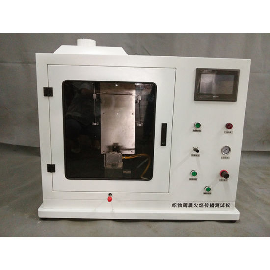 Flame Tester Burning Testing Equipment NFPA 701 for Curtain Price pictures & photos