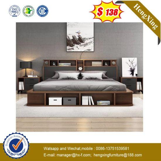 Modern Home Hotel Living Room MFC MDF Wooden Bedroom Furniture (UL-9BE805)