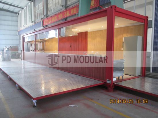 2019 New Prefabricated Mobile Modern Container House Kitchen