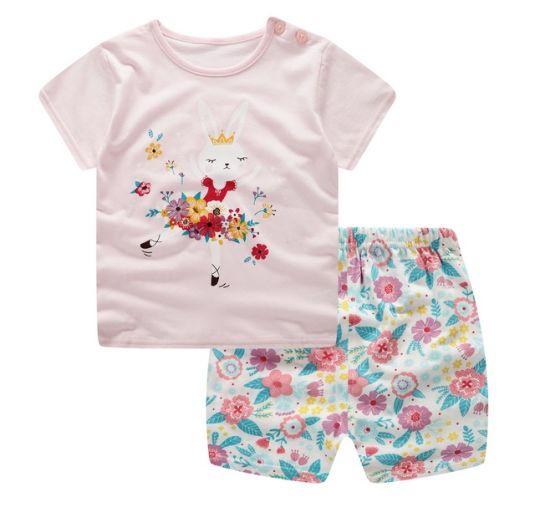 Nueva por Ropa lindo niños al Elegante Moda Venta para niños Ropa mayor Bebé Girl 2019 a verano de granel para Conjunto Boutique tqgdxg7