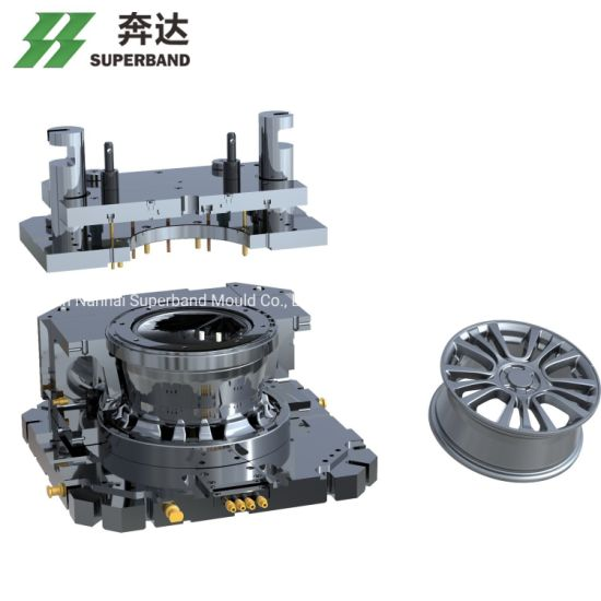 Automotive Wheel Tooling Lpdc Casting Wheel Mould Aluminum Alloy Wheel Mold Factory