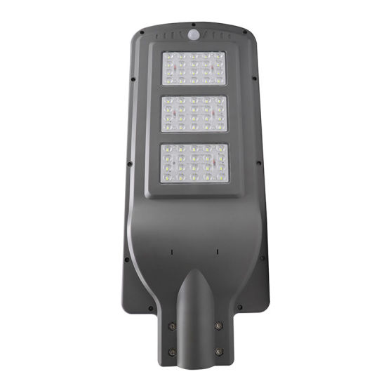 Keou New Factory Price Outdoor Housing Waterproof IP65 60W Smart Motion Sensor All in One Solar LED Street Light with Battery pictures & photos