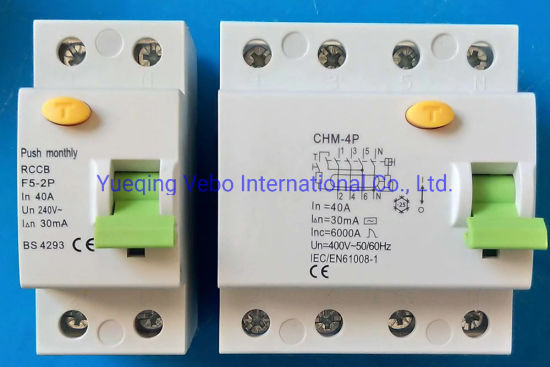 F364 Residual Current Circuit Breaker pictures & photos