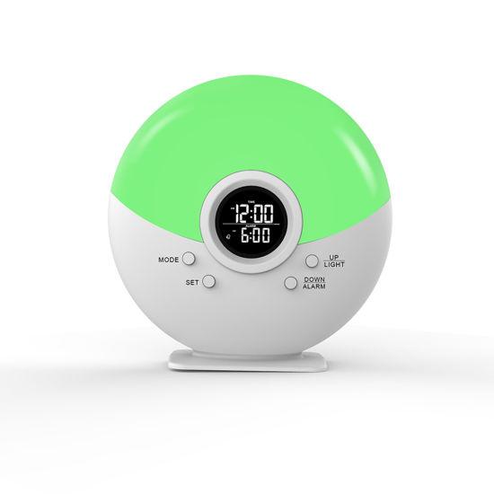 Wake up Light Wakeup Sunrise Night Light Sleep Smart LED Kids Alarm Clock