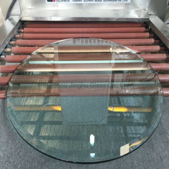 6-15mm Glass Table Clear Ultra Clear Greenhouse Glass Round Rectangle Table Top Safety Tempered Toughened Glass for Furniture