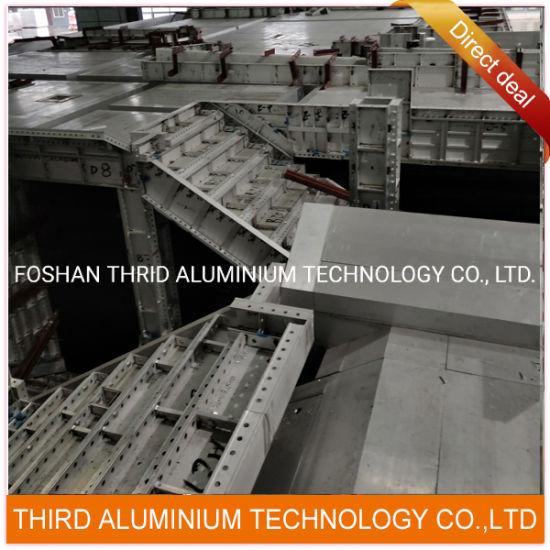 Aluminium Extrusion for Aluminum Formwork Profile of Concrete Construction