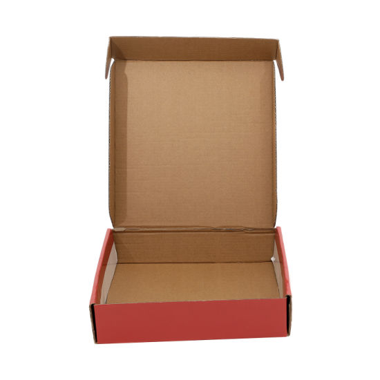High Quality Customized Packaging Box Tab Lock Folding Corrugated Paper Mailing Box
