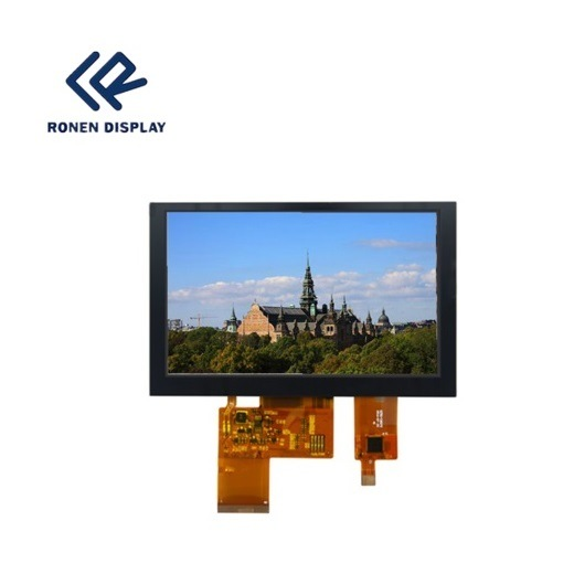 5 Inch 800*480 TFT LCD Display Capacitive Touch Screen