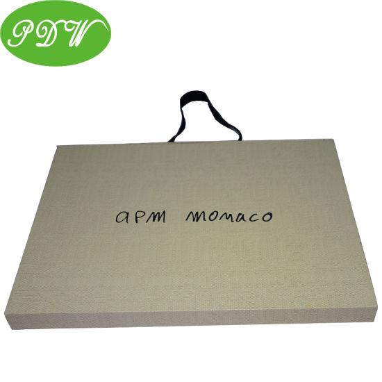 High Quantity Shopping Paper Bag for Clothing Custom Design Printing High End Paper Bag