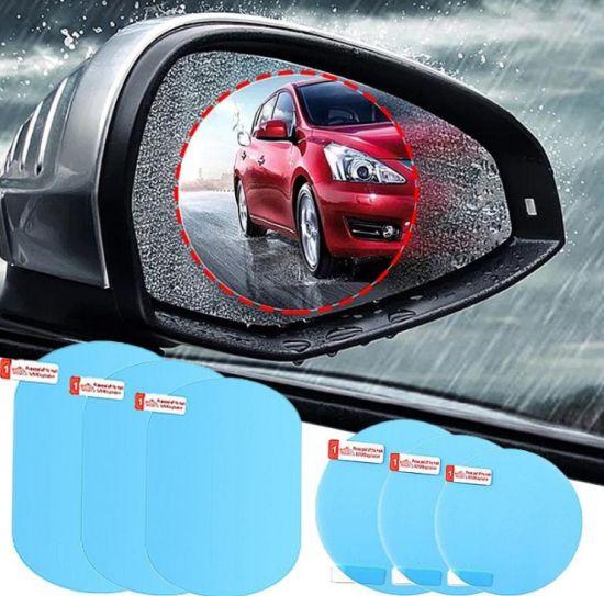 Anti-Glare Waterproof Rainproof Car Mirror Window Clear Film