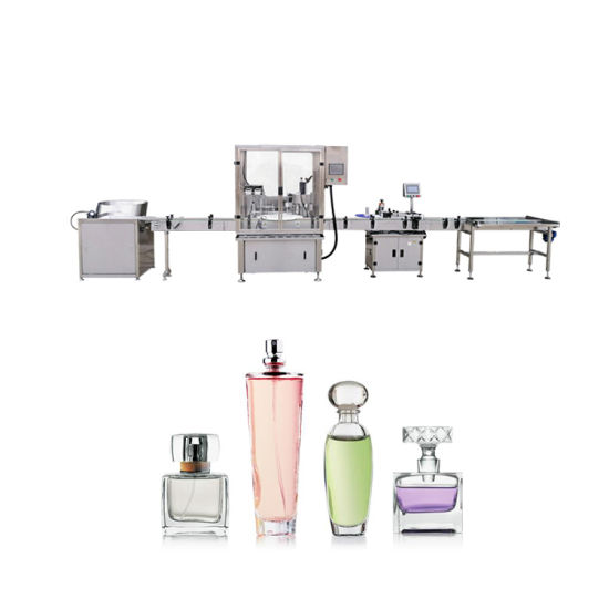 10ml 30ml Automatic Rose Essential Oil Filling and Capping Machine