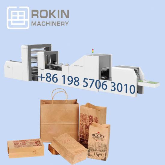 Wholesale Custom Print Kraft Paper Food Bag Making Machine