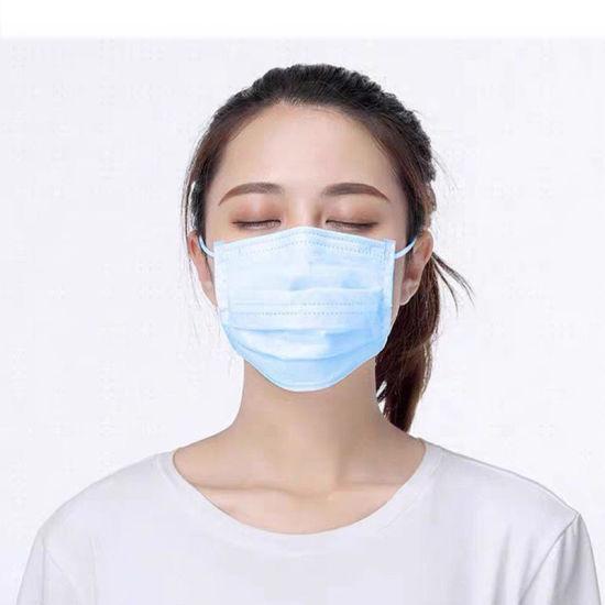 Disposable 3ply Non-Woven Civilian Pm2.5 Face Mask Dust Respirator Mask